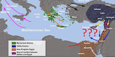 Migration Narratives: End of the Bronze Age in the Eastern Mediterranean tickets