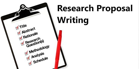 Research Proposal Writing Techniques tickets