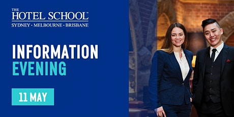 The Hotel School Melbourne Information Evening tickets