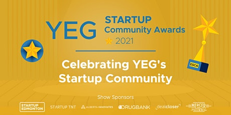 YEG Startup Community Awards 2021 tickets