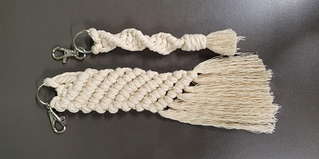 Makers Create (Macramé) - Keyrings - Woodcroft Library tickets