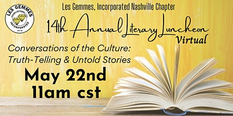 14th  Annual Literary Luncheon tickets