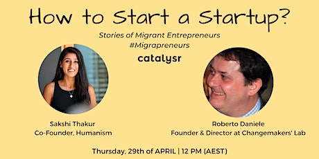 How to Start a StartUp? Stories of Migrant Entrepreneurs tickets
