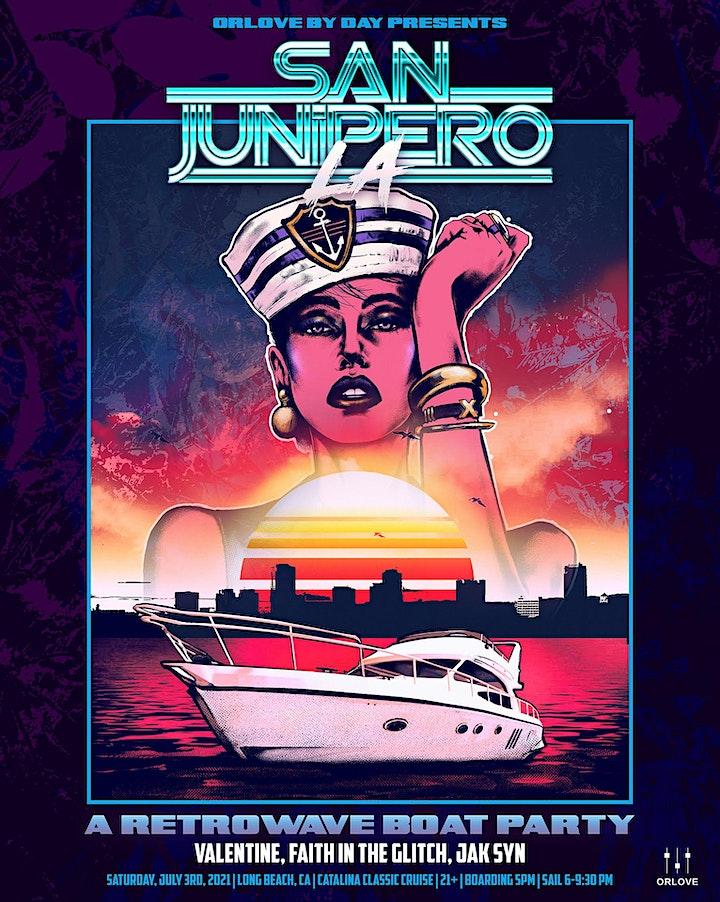 San Junipero:  A Retrowave BOAT PARTY image