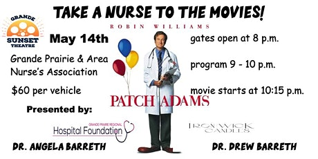 Take a Nurse to the Movies! - Grande Prairie & Areas Nurse's Association tickets