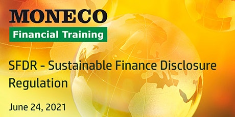 Sustainable Finance Disclosure Regulation tickets