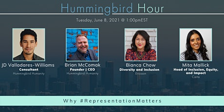 Hummingbird Hour: Why #RepresentationMatters tickets