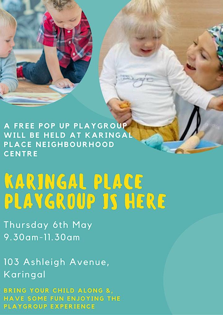 Karingal PLACE Pop Up Playgroup image