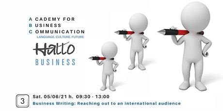Business Writing: Reaching out to an international audience tickets