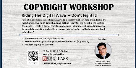 Copyright Workshop tickets