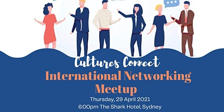 International Networking Event -  an evening to connect and have fun! tickets