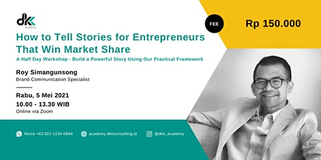 How to Tell Stories for Entrepreneurs That Win Market Share tickets