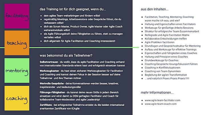BOOTCAMP Agile Facilitation + Agile Coaching (ICP-ATF + ICP-ACC) -English! image