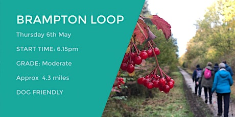 BRAMPTON CIRCULAR TRAIL | APPROX 4.3 MILES | MODERATE | NORTHANTS tickets