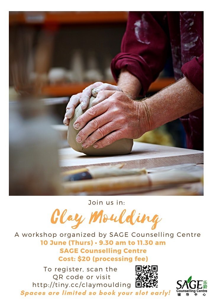 [Therapeutic Art Workshop] Clay Moulding image