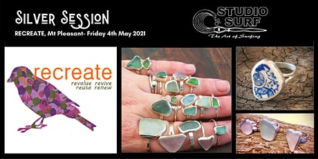 Silver Jewellery Workshop at ReCreate, Mt Pleasant tickets
