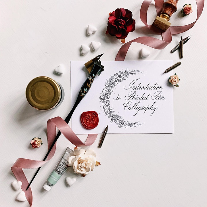 Introduction to Pointed Pen Calligraphy Workshop image