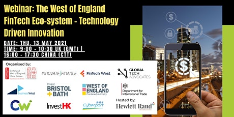 The West of England FinTech Eco-System - Technology Driven Innovation tickets