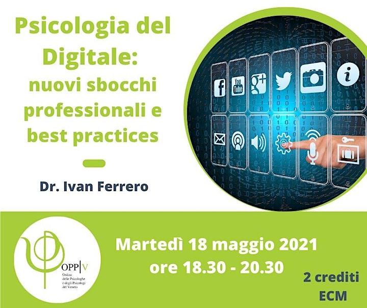 Immagine Psicologia del Digitale: nuovi sbocchi professionali e best practices