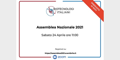 Assemblea Nazionale 2021 tickets