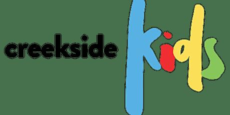 Volunteer Registration for Creekside Kids Team on Sundays tickets