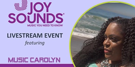 Music Carolyn Livestream Performance for Joysounds Music - Saturday, 5/8/21 tickets