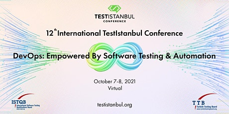 12th International TestIstanbul Conference tickets