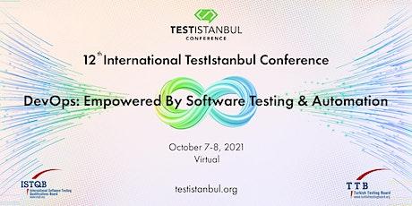 12th International TestIstanbul Conference bilhetes
