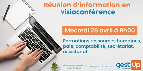 Gest'up visio - Réunion d'information collective billets