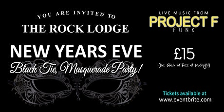 The Rock Lodge Black Tie & Masquerade New Years Eve Party tickets