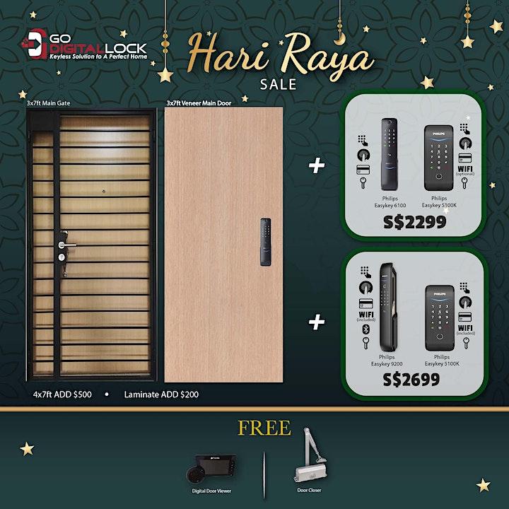 Hari Raya Bundle Promo 2021 (Door + Gate + Digital Locks) image