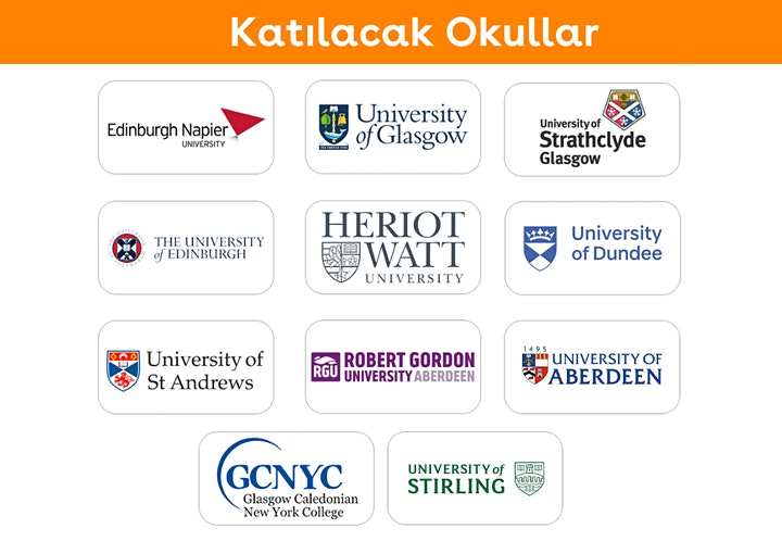 İskoçya Üniversiteleri Online Fuarı image