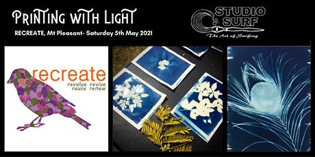 Printing with Light, Cyanotype Workshop at ReCreate, Mt Pleasant tickets