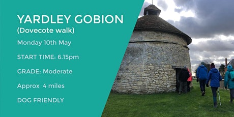 YARDLEY GOBION DOVECOTE WALK | APPROX 4 MILES | MODERATE| NORTHANTS tickets