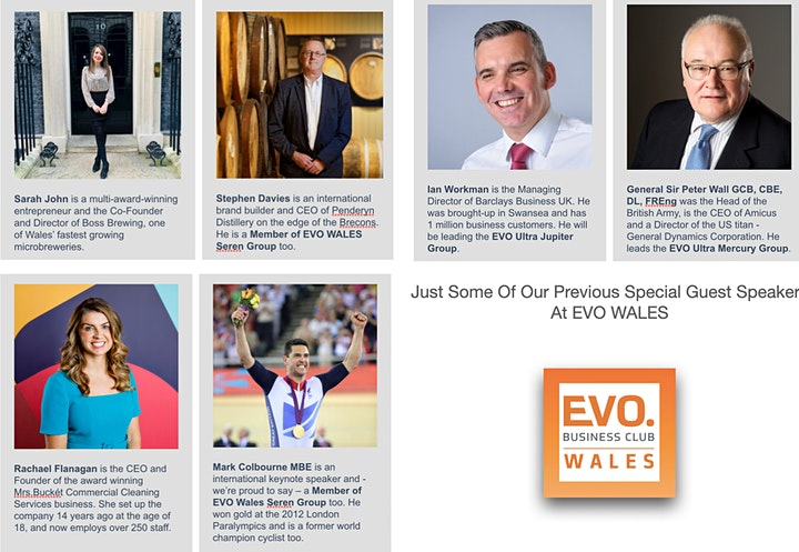 BUSINESS NETWORKING: EVO WALES DRAIG  GROUP (COVERING ALL OF WALES) image