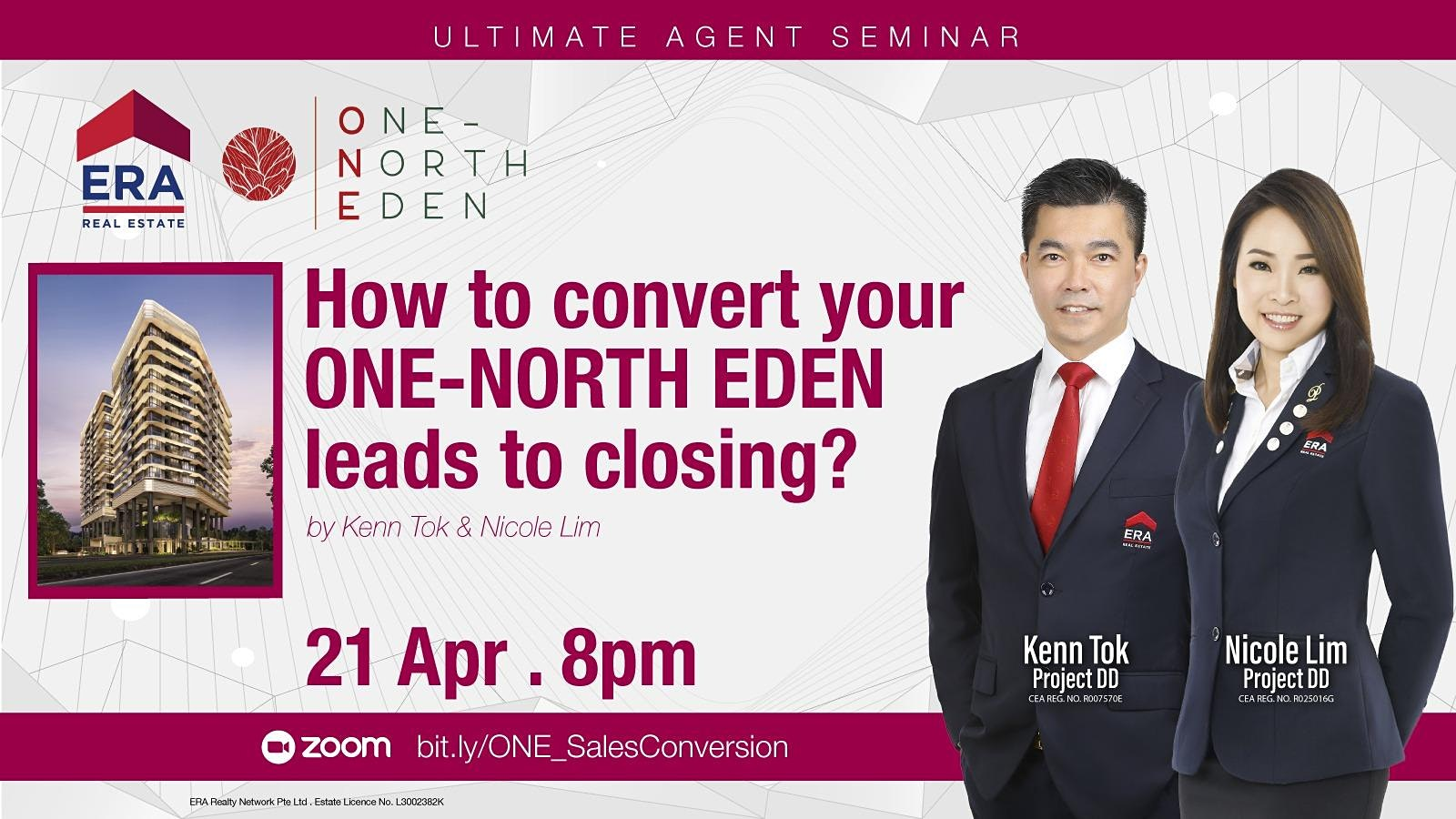 How to Convert Your ONE-NORTH EDEN Leads to Closing?