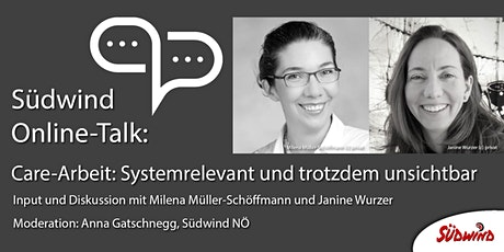 Südwind Online-Talk: Care-Arbeit: Systemrelevant und trotzdem unsichtbar. Tickets
