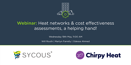 Heat networks & cost effectiveness assessments, a helping hand! tickets