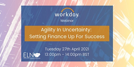 Agility In Uncertainty: Setting Finance up for Success tickets