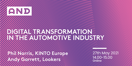 Digital Transformation In The Automotive Industry tickets