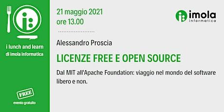 Lunch & Learn - Licenze Free e Open Source biglietti