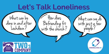 Let's Talk Loneliness - Devon tickets