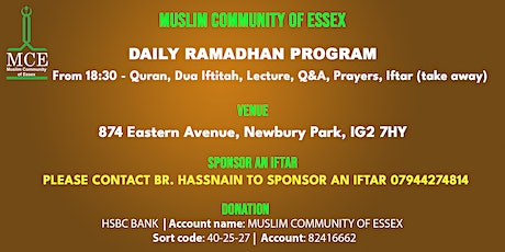 Daily Program Ramadhan 2021 tickets