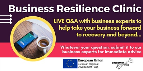 Rapid Recovery: Business Resilience Clinic tickets
