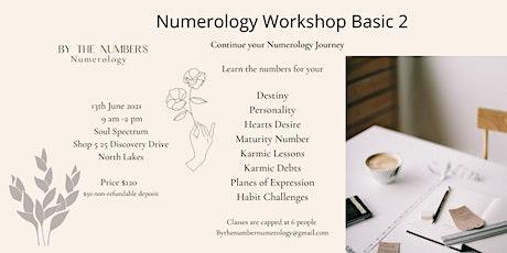 Numerology Workshop Basic 2 tickets