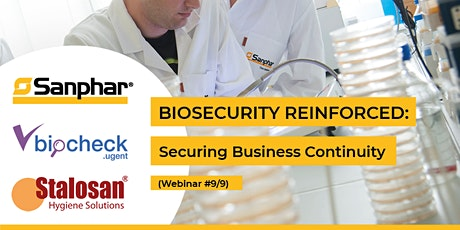 BIOSECURITY REINFORCED: Webinar #9/9 - Biocheck.UGent tickets