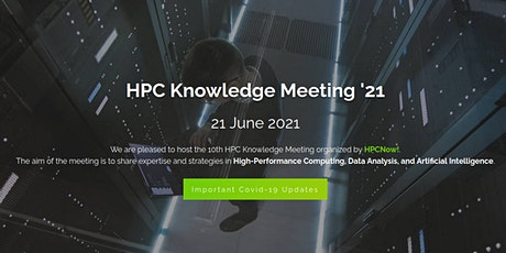 HPC Knowledge Meeting 2021 tickets