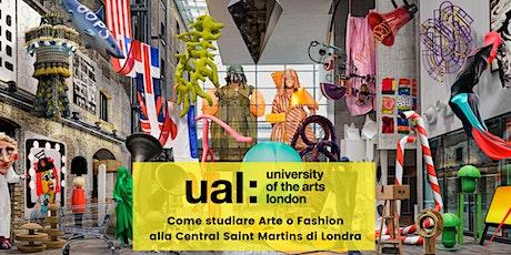 University of the Arts London - Come studiare alla Central Saint Martins? biglietti