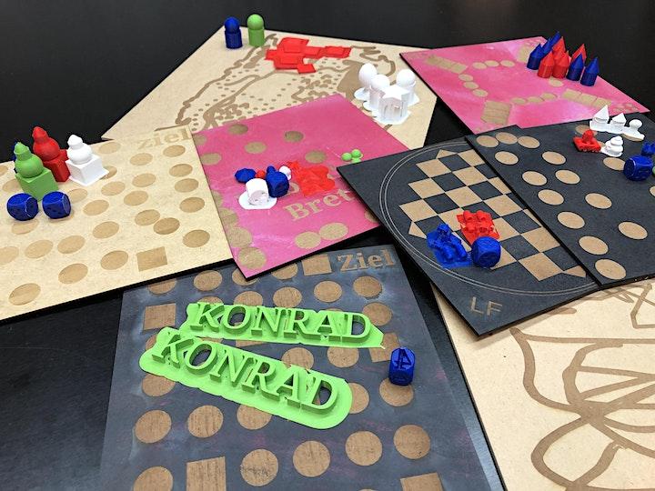 FabLabKids@home: Spielefabrik - designe Dein eigenes Brettspiel (8 - 15 J.): Bild