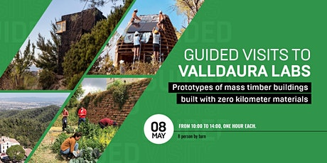 Guided visits to Valldaura Labs - Barcelona Architecture Week 2021 entradas